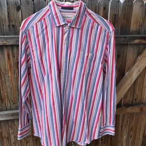 Tommy Bahama Multicolor stripe Button Down Shirt
